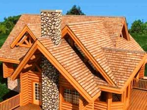Крыша надёжный защитник дома от дождя