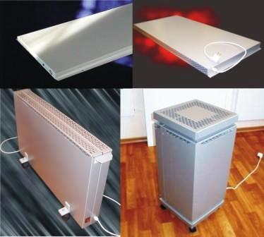Виды электрических радиаторов отопления