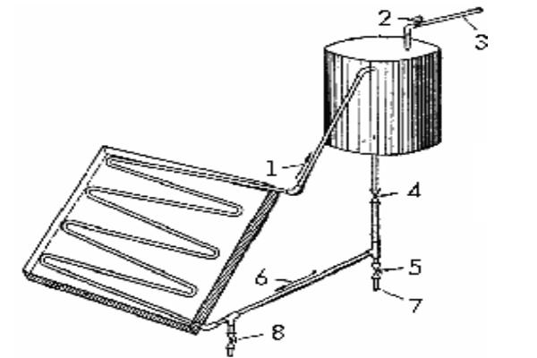 Схема коллектора, сделанного своими руками
