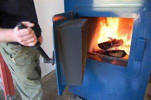 Источником тепла в данном типе отопления служит паровой котёл
