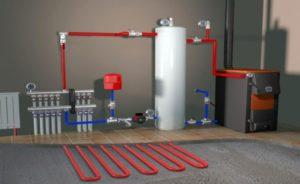 Какая схема системы отопления будет реализована, зависит только от вас и ваших требований.