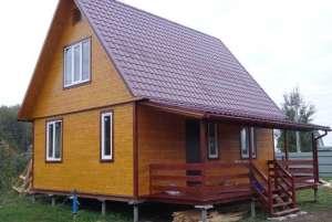 Фото дома на винтовых сваях
