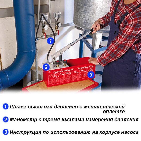 компоненты опрессовщика