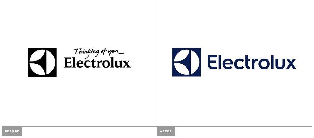 ребрендинг Electrolux