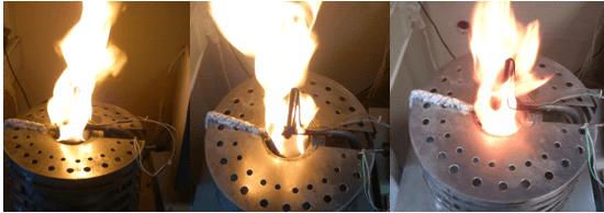 как горит некачественный изолятор