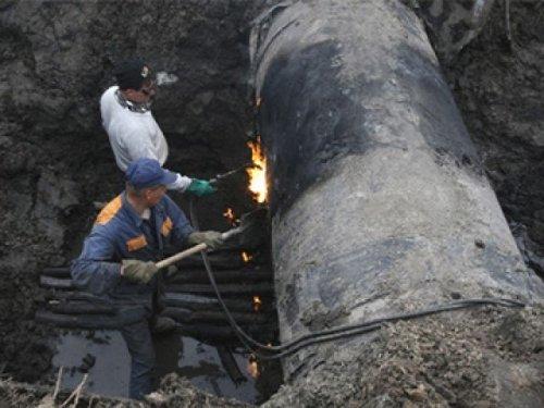 Из-за аварии на газовой магистрали в Белоярке жители остались без газа и тепла