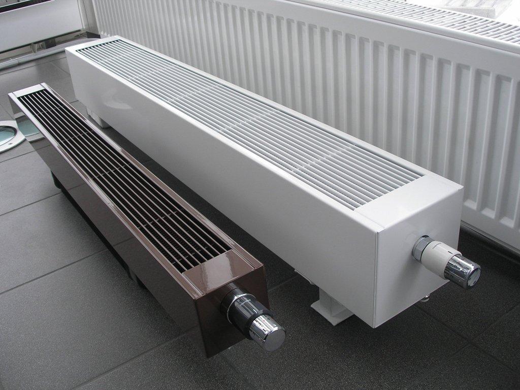 Виды и особенности установки водяных конвекторов отопления