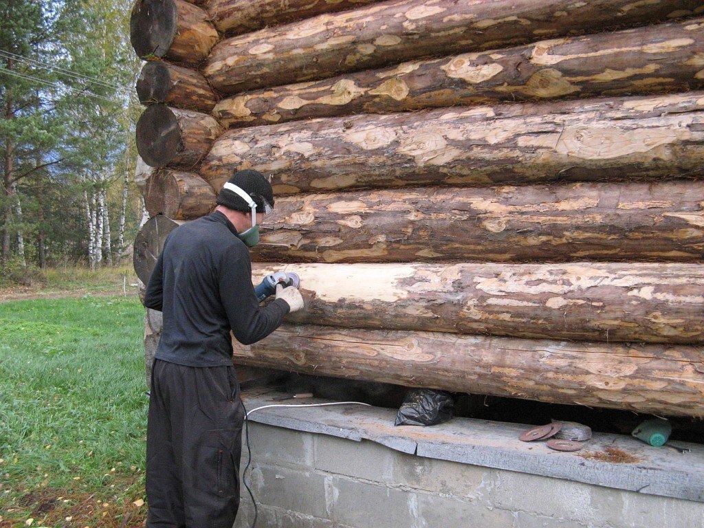 Утепляем старый деревянный дом своими руками