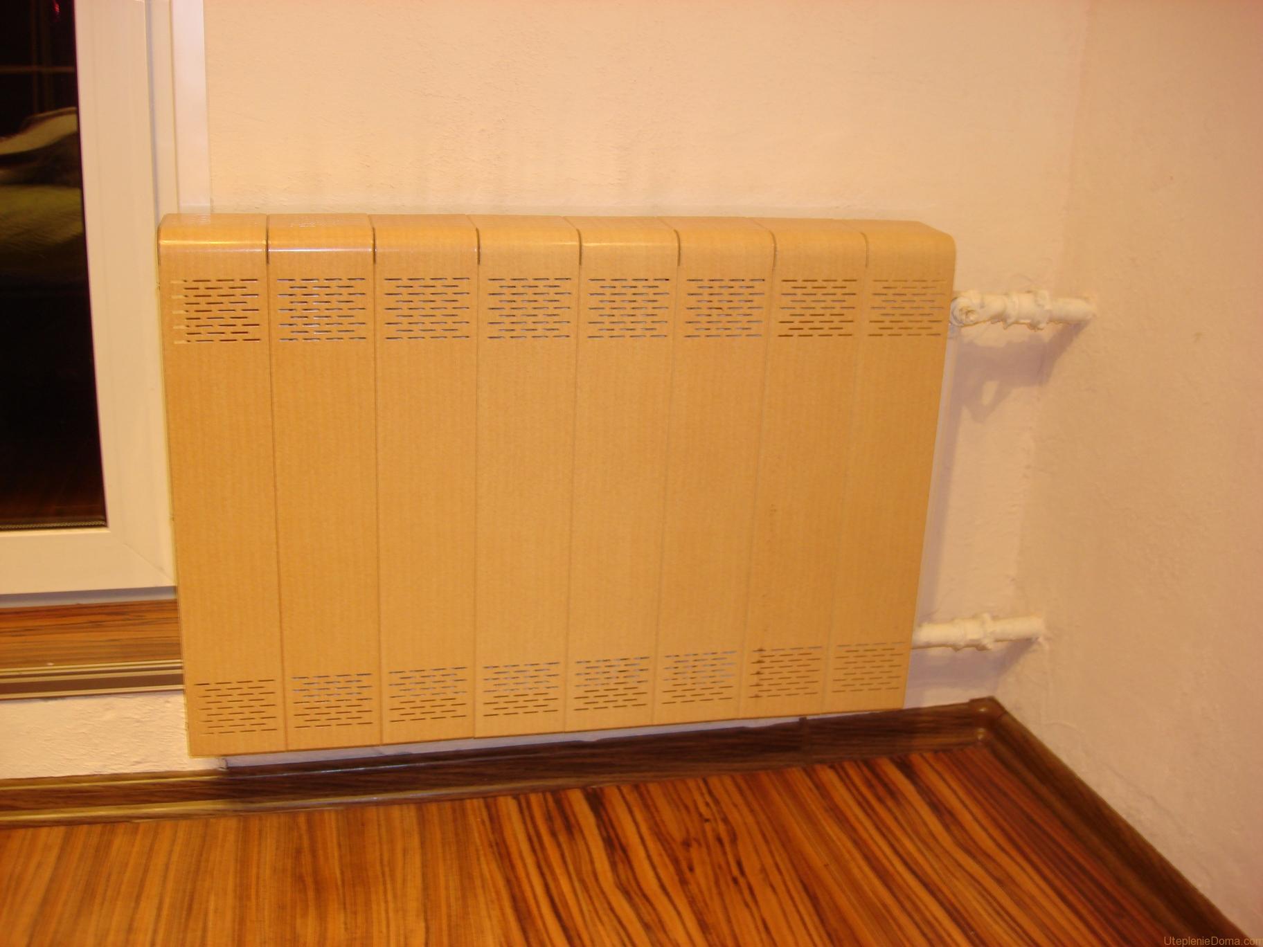 Виды экранов для батарей отопления