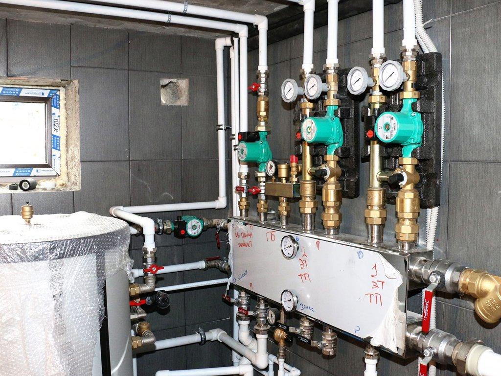 Схемы систем водяного отопления и их практическое применение