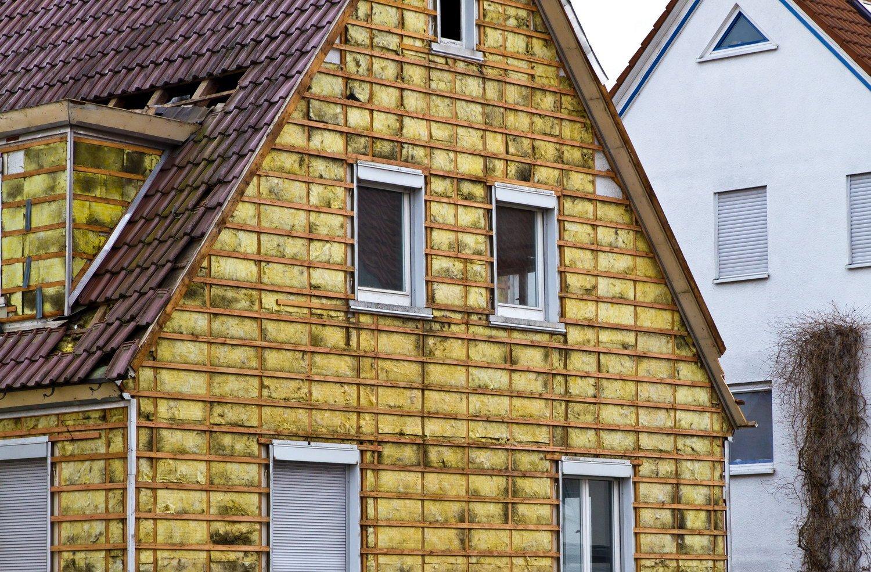 Утепление минеральной ватой деревянных домов
