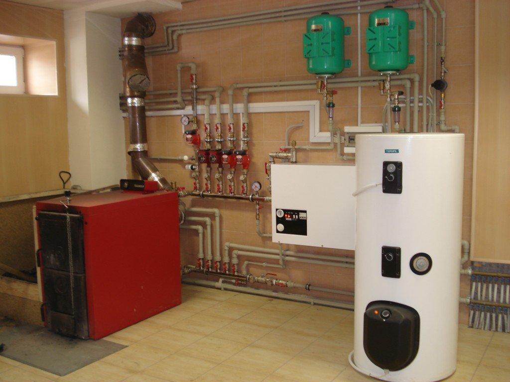 Преимущества системы отопления дома с естественной циркуляцией воды