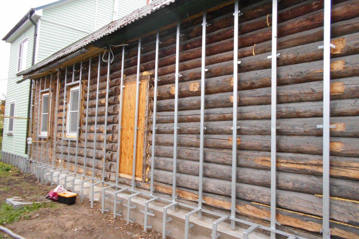 Утепляем стены деревянного дома