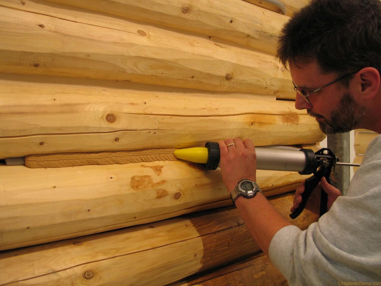 Внутреннее утепление деревянного дома