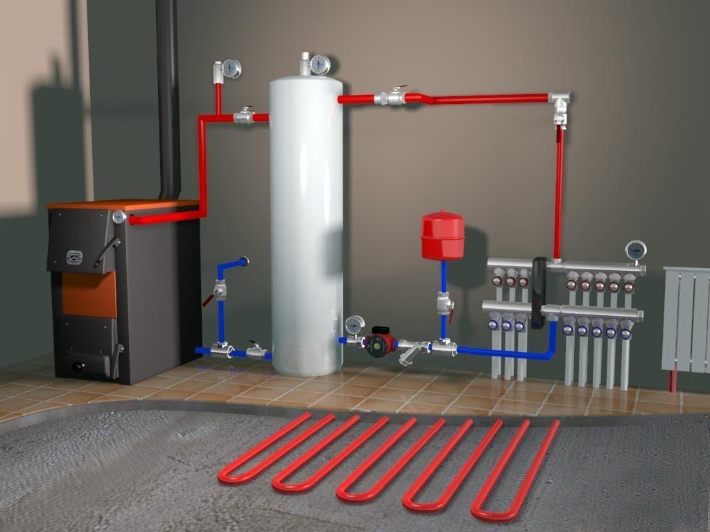 Правила выбора лучевой отопительной системы для частного дома