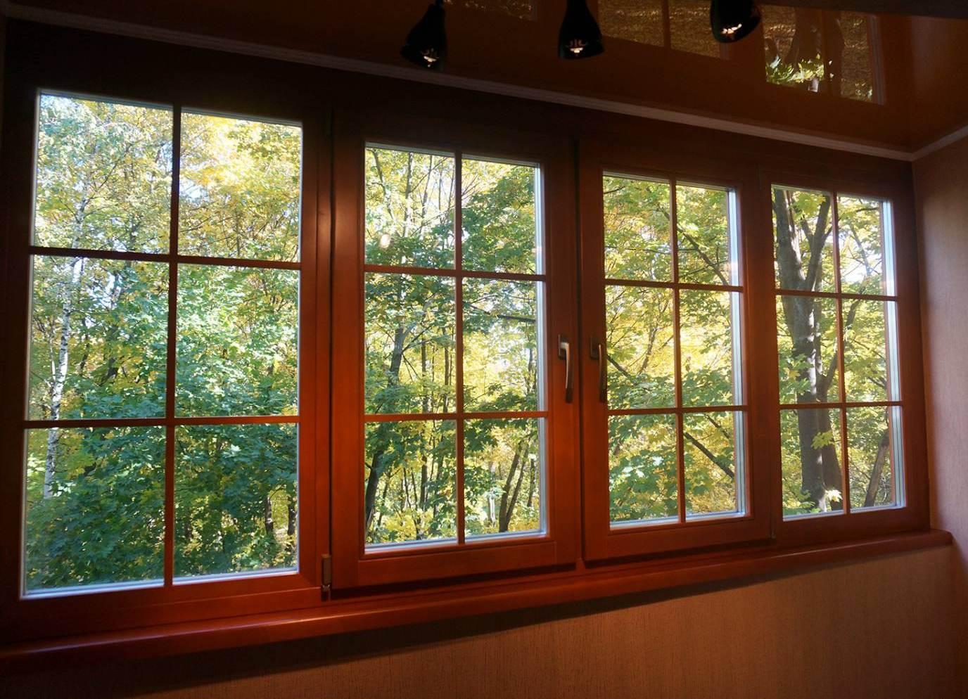 Как сохранить красоту деревянных окон и удержать тепло в доме