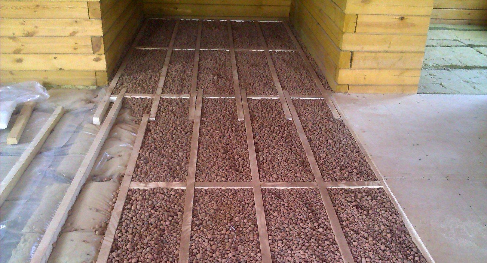 Как провести утепление деревянного пола без помощи специалистов