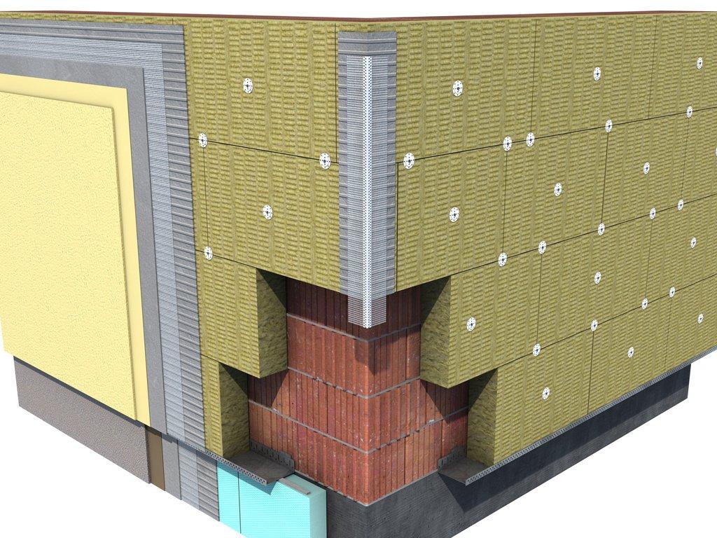 Как осуществляется утепление фасадов с использованием минваты