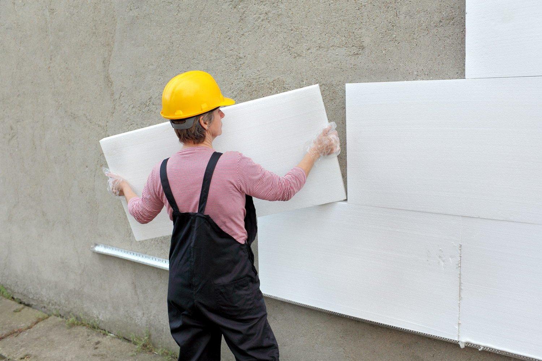 Утепляем фасад пенопластом – монтаж без ошибок