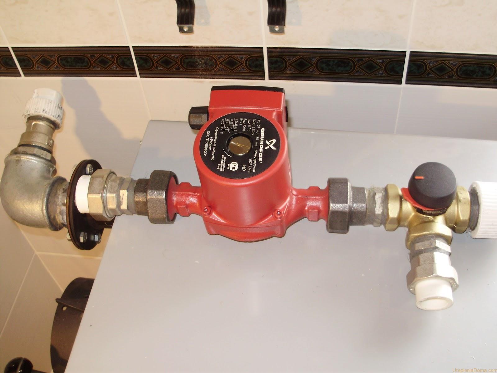 Рассчитываем оптимальную мощность насоса для отопления