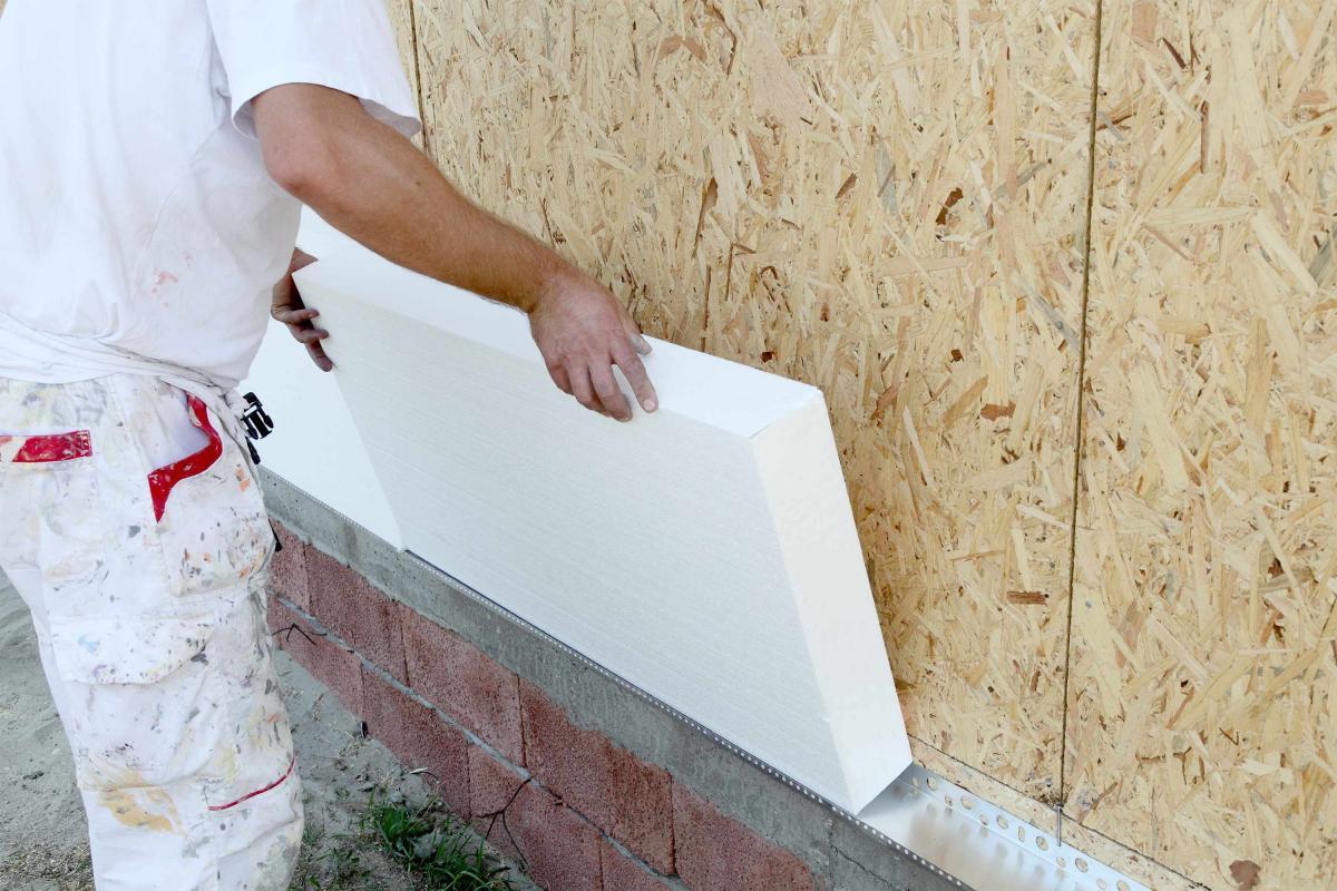 Утепляем фасад пенопластом – монтаж от и до