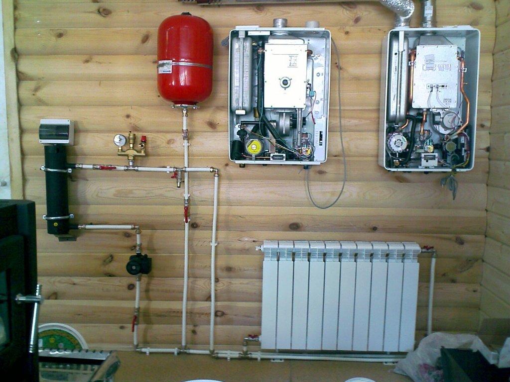 Система отопления на даче – как провести монтаж своими руками