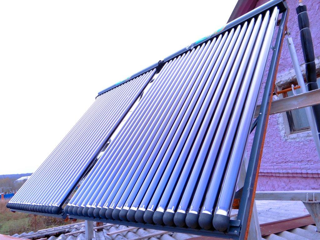 Как сделать коллектор для системы солнечного отопления своими руками