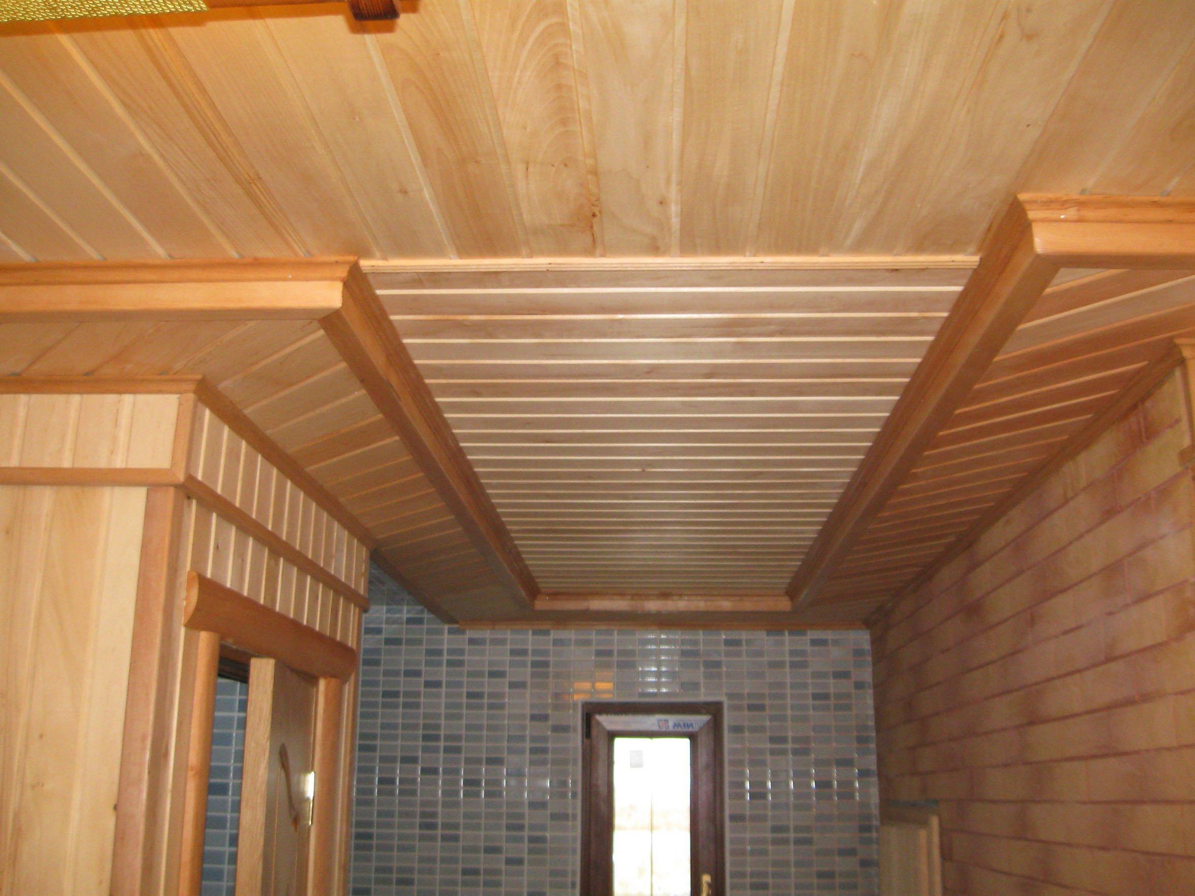 Теплый и надежный потолок в вашей бане