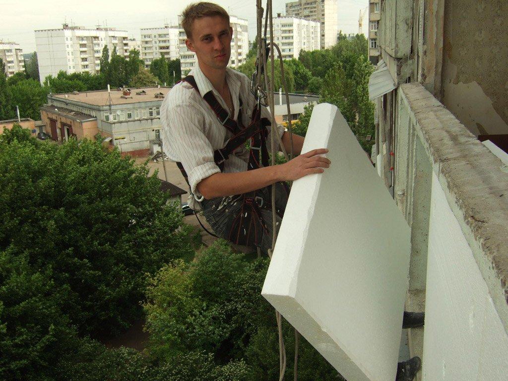 Как и чем утеплить балкон пенопластом: пошаговая инструкция