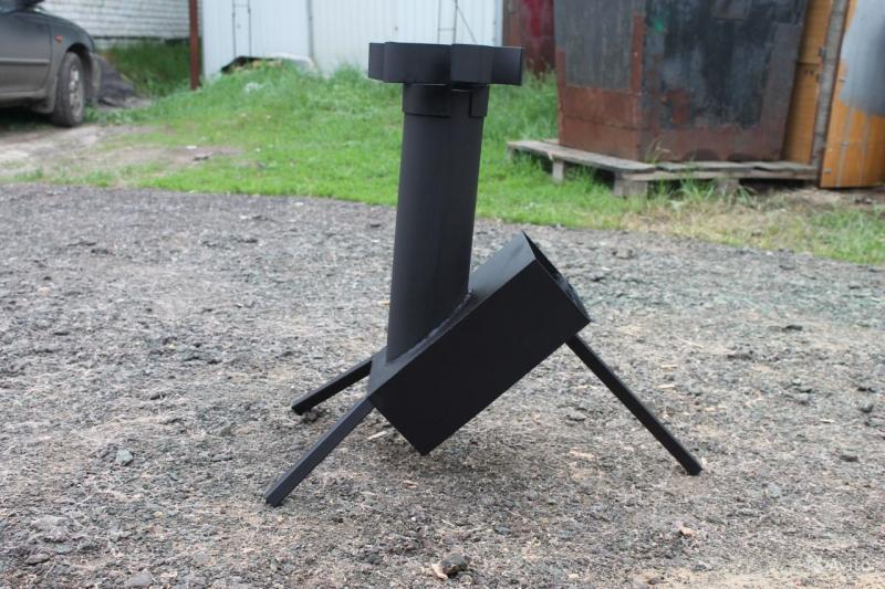 Реактивная печь: пошаговая инструкция по изготовлению самодельной конструкции