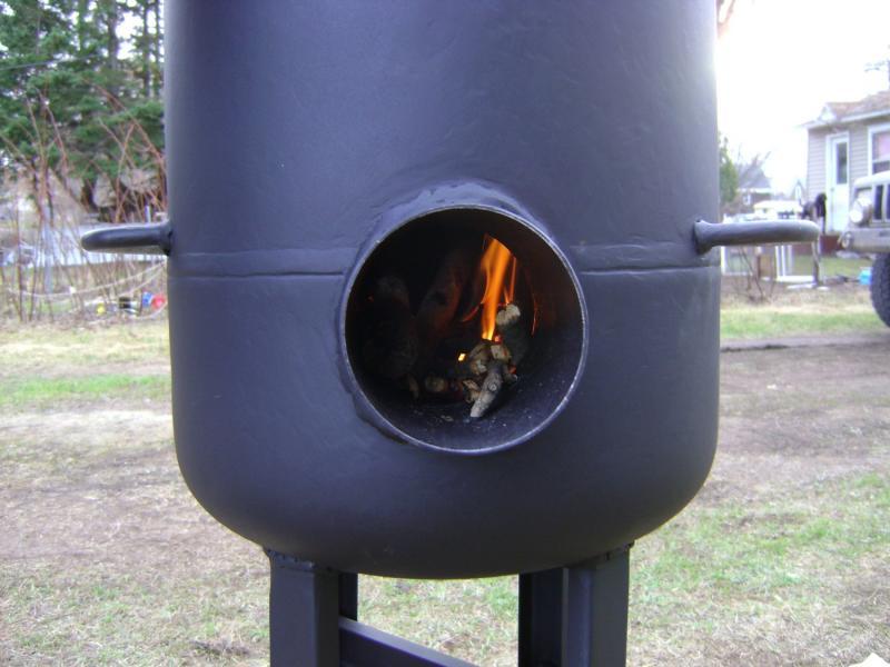 Буржуйка из газового баллона своими руками: печка за несколько часов
