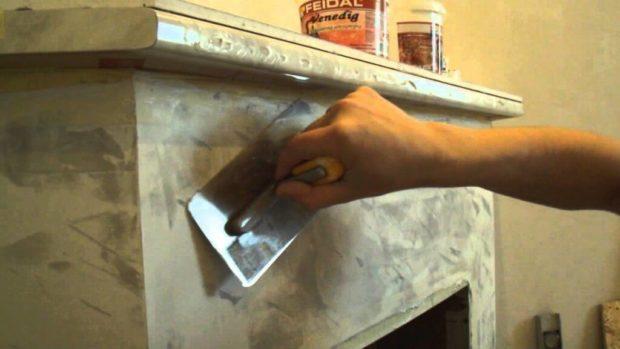 Оштукатуривание печи своими руками
