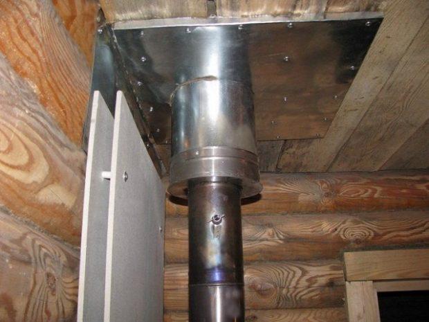 Защитный экран для деревянной стены