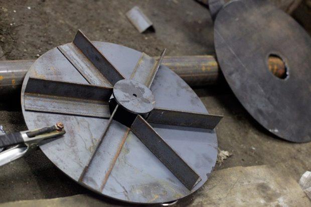 Изготовление поршня (груза) для печи бубафоня