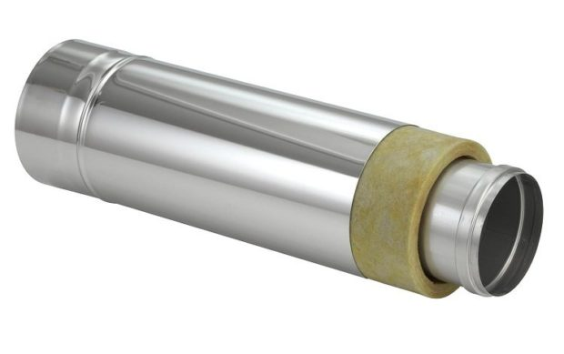 Труба для дымохода из стали марки AISI 321
