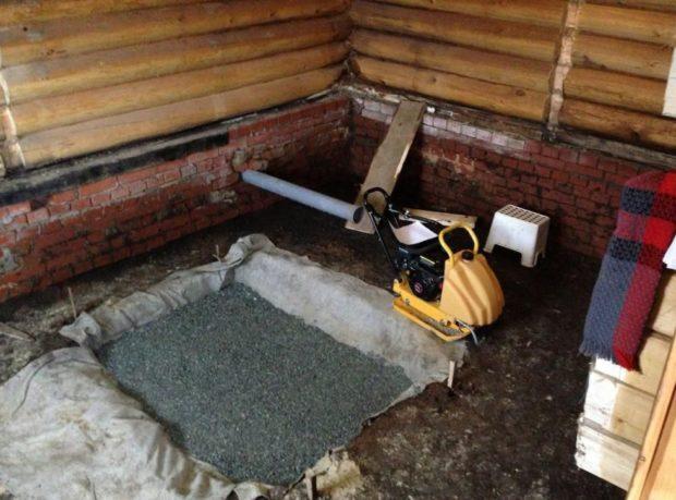 Фундамент под котел