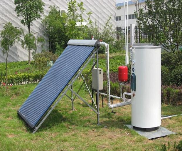 Активный солнечный водонагреватель