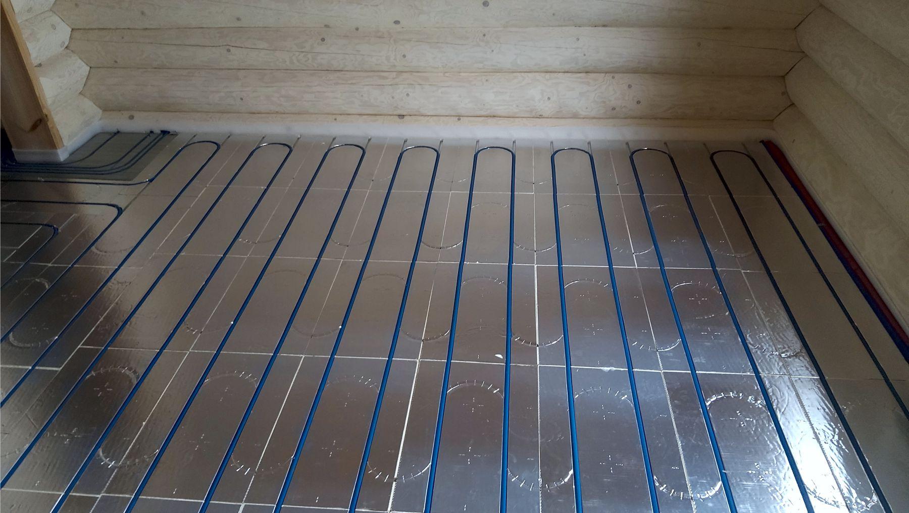 Плюсы использования алюминиевых матов при укладке теплого пола