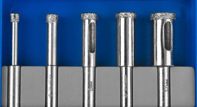 Сверла алмазные: сферы применения