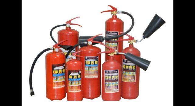 Классификация и применение порошковых огнетушителей